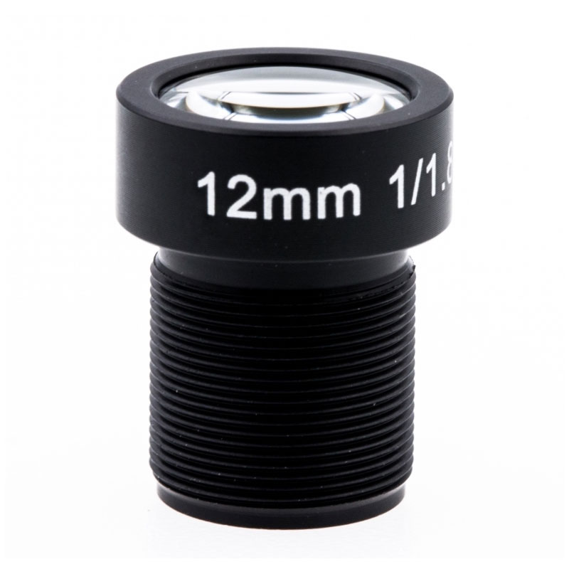 8K Lens 12.00mm F/1.8 34D HFOV 10mp Gopro Lens