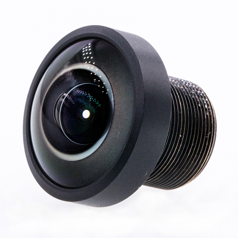 8K 190 degree 8mp image circle φ6.3mm fisheye lens M12 mount lens