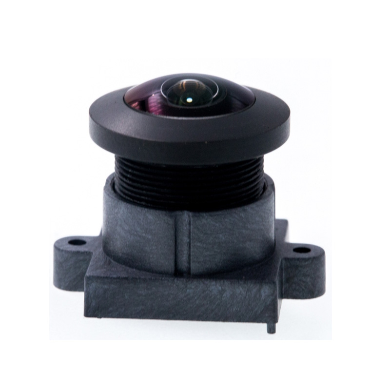 F2.8 8mp 225D 1.0mm  M12 Fixed Focus Super Wide Angle  Fisheye Lens action Camera lens