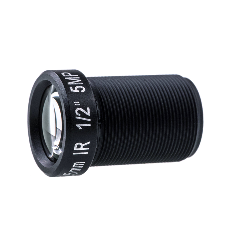 1/2 m12 IR Fixed F2.0  5mp 16mm CCTV Board Lens for CCD Camera